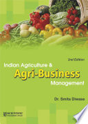 Indian Agriculture Agri Business Management 2 Nd Ed