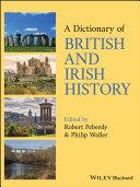 Pdf A Dictionary of British and Irish History