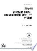 Wideband Digital Communication Satellite System Book