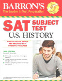 Barron s SAT Subject Test  U S  History
