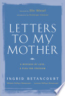 Letters to My Mother Book