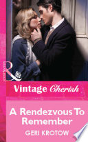 A Rendezvous To Remember  Mills   Boon Cherish