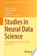Studies in Neural Data Science