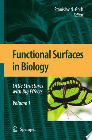 Free Download Functional Surfaces in Biology PDF - Writers Club