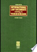 International Law Documents Relating To Terrorism