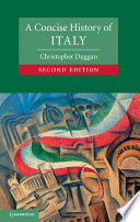 A Concise History Of Italy Book