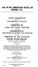 Hearings  Reports and Prints of the Senate Committee on Labor and Public Welfare