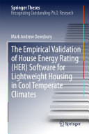 The Empirical Validation of House Energy Rating  HER  Software for Lightweight Housing in Cool Temperate Climates