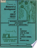 Research and Development of Fruit Trees