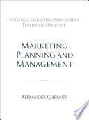 Marketing Planning and Management
