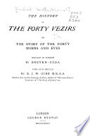 The History of the Forty Vezirs