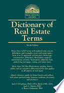 Dictionary Of Real Estate Terms PDF