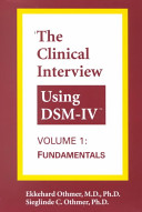 The Clinical Interview Using Dsm IV Book PDF