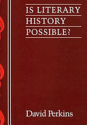 Is Literary History Possible?