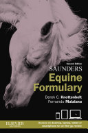 Saunders Equine Formulary