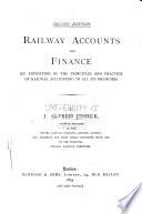 Railway Accounts and Finance