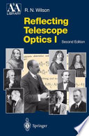 Reflecting Telescope Optics I