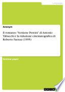 """Il romanzo """"Sostiene Pereira"""" di Antonio Tabucchi e la riduzione cinematografica di Roberto Faenza (1995)"""