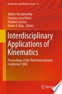 Interdisciplinary Applications of Kinematics Book