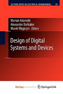 Design of Digital Systems and Devices Book