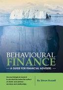 Cover of Behavioural Finance