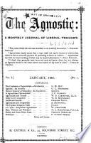 The Agnostic Book PDF