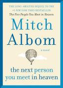 The Next Person You Meet in Heaven Pdf/ePub eBook