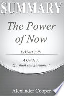 Summary of The Power Of Now Book