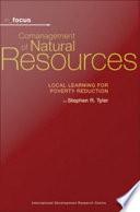 Comanagement of Natural Resources