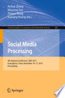 Social Media Processing Book PDF