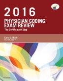 Physician Coding Exam Review 2016   E Book