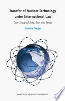 Transfer of Nuclear Technology Under International Law