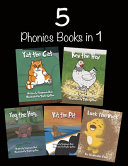 5 Phonics Books in 1  Short Vowel Sounds