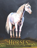 Coloring Book for Adults Horses