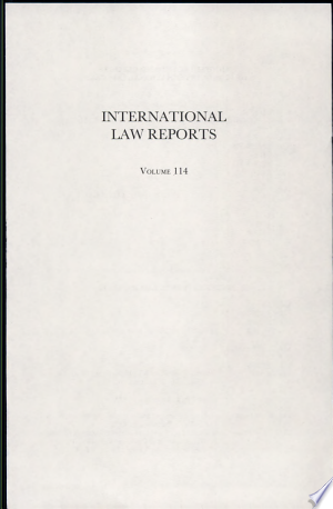 Download International Law Reports Free Books - Dlebooks.net