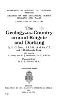 The Geology of the Country Around Reigate and Dorking