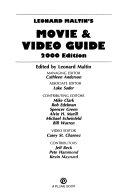 Leonard Maltin s Movie and Video Guide