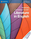 Books - Cambridge Igcse� Literature In English Coursebook | ISBN 9780521136105