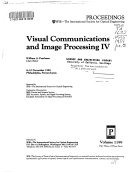 Visual Communications And Image Processing IV