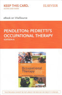 Pedretti's Occupational Therapy EBook on VitalSource Access Code