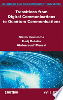 Transitions from Digital Communications to Quantum Communications Book
