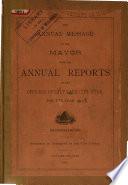 Annual Reports of the Officers of Salt Lake City  Utah Book PDF