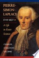 Pierre Simon Laplace  1749 1827