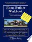 Home Builder Workbook