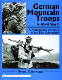 German Mountain Troops in World War II