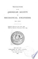 Transactions of the American Society of Mechanical Engineers