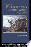 War In The Early Modern World