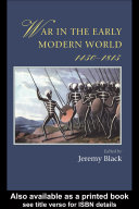 Pdf War In The Early Modern World Telecharger