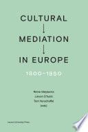 Cultural Mediation In Europe 1800 1950
