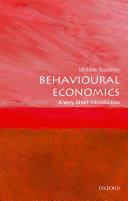 Behavioural Economics: A Very Short Introduction Pdf/ePub eBook